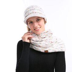 bab9c3f1b6edb 2 peice beanies  amp  scarf sets  fashion  clothing  shoes  accessories
