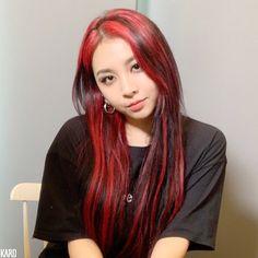 Hair Color And Cut, Cut My Hair, Red Hair Streaks, Red Hair Inspo, Dying My Hair, Hair Dye Colors, Coloured Hair, Aesthetic Hair, Grunge Hair