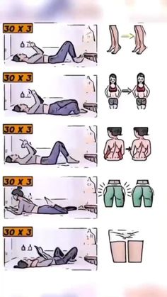 Fitness Workouts, Gym Workout Videos, Gym Workout For Beginners, Fitness Workout For Women, Easy Workouts, Body Fitness, Health Fitness, Fitness Tips, At Home Workouts
