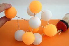 How to Make a Boron Atom Model | eHow 3d Atom Model, Atom Model Project, Boron Atom, Science Models, Math Lab, Classroom Inspiration, Classroom Ideas, Science Projects, School Projects
