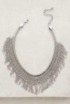 Anthropologie Sibylline Fringe Necklace #anthrofave