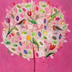 "Leinwandbild ""Happy Tree"" von Andrea Letterie, Wandbild"