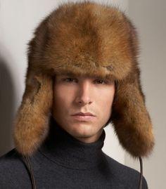 a2b66aabb5f Men s Fur Russian-Style Hat