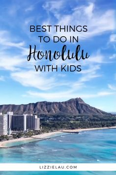 The Best Things To Do In Honolulu With Kids Oahu is a perfect family vacation destination. You'll never run out of activities when you visit Honolulu with kids. Hawaii Travel, Travel Usa, Travel Europe, Hawaii Hawaii, Shopping Travel, Travel Logo, Texas Travel, Hawaii Vacation, Cruise Vacation