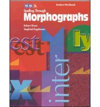 Spelling Through Morphographs - Student Workbook. In fifth grade, we practiced Morphographic spelling... The teacher would hit a xylophone/bell and all the kids would recite the different parts of the words.