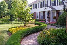 Garten Landschaftsbau   Man Kann Ziegel Auf So Viele Verschiedene Arten In  Einsatz Bringen. Man Kann Sie Im Innen  Und Außenbereich Ebenfalls  Anbringen.