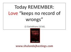 forgiving in relationships