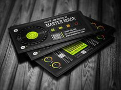 20 best dj business cards images on pinterest business cards digital dj business card template iamvinyljunkie tags digital dj creative mixer fbccfo Gallery