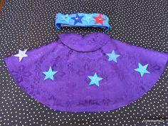 star gazer wizard rock star cape by knittedswimsuit on Etsy, £12.00