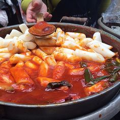 Curious about what to eat in Seoul? More on dukbokki (pictured) and other tasty South Korean treats #ontheblog! Link in profile! by actress_eats