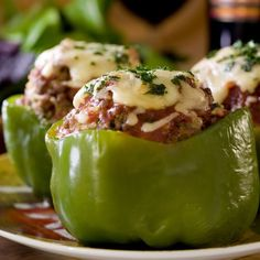 Welcome to my Slimming World Big Mac Stuffed Peppers in the Slow Cooker.