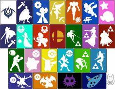 Otaku Crafts: More 3DS/ 3DS XL Sleeve Templates (Smash Bros., Ze...