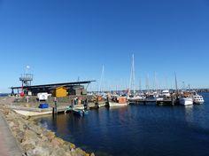 Yachthafen Glowe auf der Ostseeinsel #Rügen #ostsee #Frühlingsreise