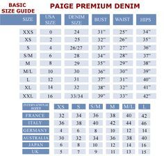 Image Result For Rock And Republic Jeans Size Chart Jeans Size Chart Jeans Size Nordstrom Pants