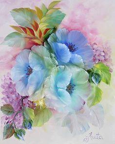 Pintura de flores...