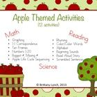 This apple theme pack is filled with reading, math, and science activities that would be great for any apple unit, back to school unit, or fall uni...