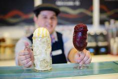 Alcoholic Ice Creams at BLVD Creamery at the Monte Carlo Las Vegas