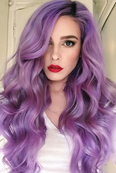 Violet Ombre Hair Color picture1
