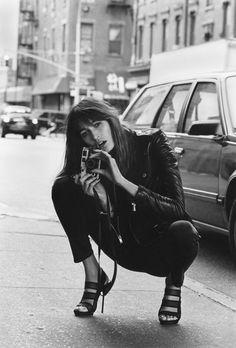 Sophie Marceau photographe