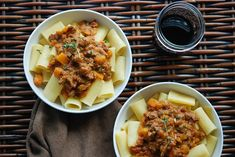 Rigatoni with Veal Bolognese & Butternut Squash