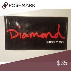 2c50f43cc71 Limited Diamond Supply Co Vinyl sign (Rare)