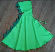 Umhang DRACHE, Drachenumhang, Krokodil Kapuze Cape Kostüm Fasching Karneval NEU    Neongrüner Umhang mit grünen Zacken und Kapuze  Wenn Sie den Umhang in einer anderen Farbe brauchen (sofort...