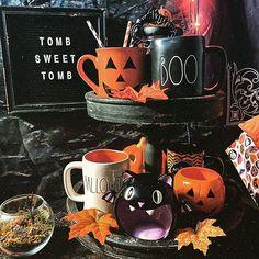 Felt Creative Home Goods®❦Brit (@feltcreativehome) • Instagram photos and videos Farmhouse Halloween, Burlap Sacks, Halloween Displays, Gothic House, White Letters, Farmhouse Design, Creative Home, Seasonal Decor, Cute Gifts