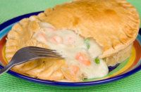 Marie Callenders chicken pot pie recipe.  You won't be disappointed.  I've made it several times, it's always a hit!