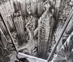 These vertigo-inducing art pieces would make Alfred Hitchcock proud.