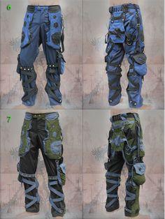 Homme Denim Jeans Tactique Combat Randonnée Pantalon Militaire Cargo Multi Poche-Neuf