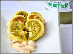 Pistachio hearts recipe using Hawberry Farms Pistachio Butter.