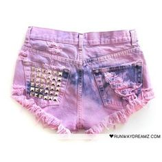 DIY: ombre shorts.