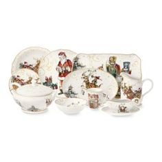 'Twas The Night Before Christmas Dinnerware Collection #Williams-Sonoma