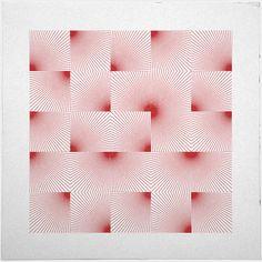 #308 Twenty-five suns – A new minimal geometric composition each day