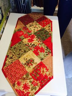 Christmas table runner