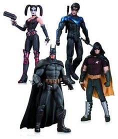 f670f9cfcac9 Bed Bath   Beyond DC Comics Batman  Arkham City 4-Piece Action Figure Set