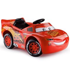 Disney Kids Ride-On Car Electric Lightning McQueen Genuine Cars 3 Children Toy Battery Lightning Mcqueen Race Car, Baby Girl Halloween, Cars Birthday Parties, Kids Ride On, Electric Cars, School Bags, Disney, Kids Toys, The Incredibles