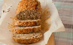 Dit overheerlijke gezonde havermoutbrood flans je in maar 5 minuten in elkaar!