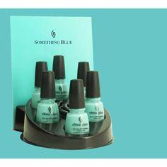 """Tiffany Blue nail polish - China Glaze """"for Audrey"""" AHHHHH"""