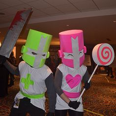 Castle Crashers cosplay at Dragoncon