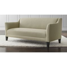 Margot Sofa - Platinum | Crate and Barrel