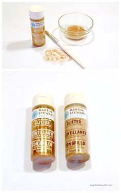 Martha Stewart Crafts | Glitter Acrylic Craft Paint