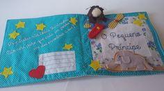 LIVRO DE ESTÓRIA Era uma vez... Livro interativo para criança do Pequeno Príncipe, com dedoches do príncipe, da raposa e do aviador. A criança faz a sua estória, brincando. Em tecido e feltro. Tamanho: 22cmx22cm fechado R$ 75,00 Contato - E.mail: kauemalu@hotmail.com