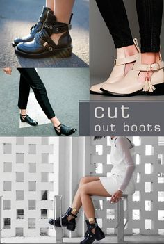 Inspire-se: Cut Out Boot!