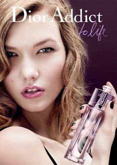 Karlie Kloss for 'Dior Addict to Life' fragrance advertisement in 2009.