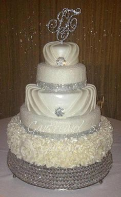 Bling Wedding cake