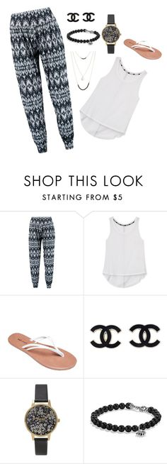"""Outfit #21"" by asthemadartist ❤ liked on Polyvore featuring Boohoo, Rebecca Minkoff, Wet Seal, Olivia Burton, David Yurman, Cara Accessories, Summer, casual, white and black"