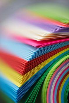 .papel hojas de colores