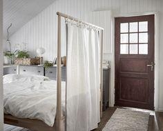 GJÖRA bedframe | #nieuw #IKEA #IKEAnl #bed #frame #berken #slaapkamer #slapen #hoofdbord #roomdivider