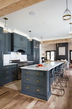 Navy Farmhouse Kitch
